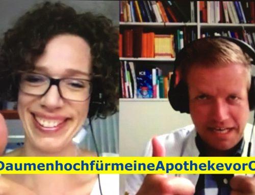 #DaumenhochfürmeineApothekevorOrt- die Postkarten